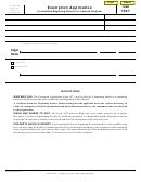 Form 1027 - Exemption Application For Qualified Beginning Farmer Or Livestock Producer - Nebraska Department Of Revenue