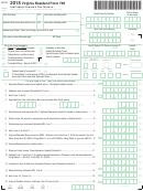 Form 760 - Individual Income Tax Return - 2015