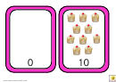 Number Bonds To 10 Cupcakes Match Worksheet