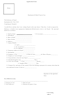 Application Form - The Embassy Of Nepal