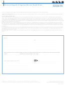 Form 50-775 - Notice Of Appeal Of Appraisal Review Board Order