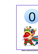0-10 Numbers Classroom Banner Template