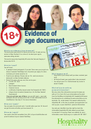 Evidence Of Age Document Application