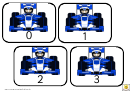 F1 Number Cards 0-50 Template
