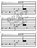 Form Mo-2ent Draft - Statement Of Income Tax Payments For Nonresident Entertainers