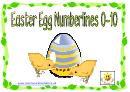 Easter Egg Numberlines 0-10
