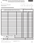 Form Nys-45-att - Quarterly Combined Withholding, Wage Reporting, And Unemployment Insurance Return-attachment