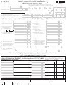Form Nys-45 - Quarterly Combined Withholding, Wage Reporting, And Unemployment Insurance Return