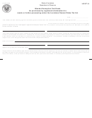 Form R-1028 - Blanket Exemption Certificate For Purchases By Registered Wholesalers For Resale Or Further Processing Under The Louisiana General Sales Tax Act
