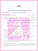 Aruba - Legal Requirements For Getting Married In Aruba