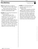 Vocabulary - Sundials