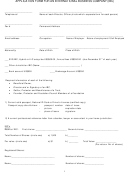 Application Form For An International Business Company (ibc)