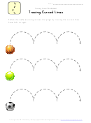 Tracing Curved Lines Worksheet