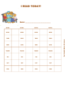 I Read Today! (family) - Behavior Chart