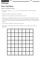 Four Fractions - Activity Template
