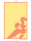 Design Bookmark Template