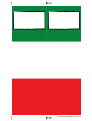 Blocks Bookmark Template