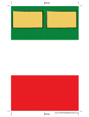 Blanks And Blocks Bookmark Template