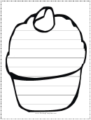 Ice Cream Writing Template First Grade
