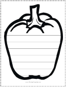 Apple Writing Template First Grade