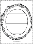Sun Writing Template First Grade