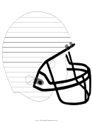 Helmet Writing Template First Grade