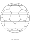 Football Writing Template First Grade