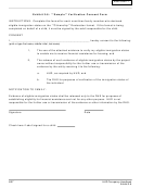 Citizenship Declaration - Verification Consent Form