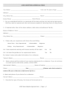 Lope Adoption Approval Form