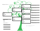 Pedigree Chart Template - Green Tree