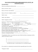 Boat Dock Information Form For Benton County, Ar Assessor's Office