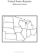 United States Regions Midwestern States