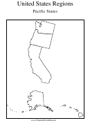United States Regions Pacific States