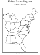 United States Regions Eastern States