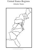 United States Regions Atlantic States