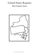 United States Regions Mid-atlantic States