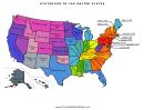 United States Statehood Map