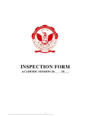 Rgpv Inspection Form
