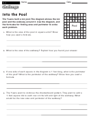 Into The Pool - Math Worksheet With Answers