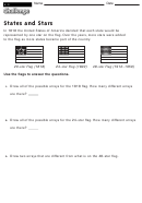 States And Stars - Multiplication Worksheet With Answers