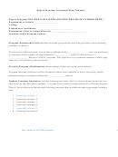 Degree Program Assessment Plan Template