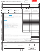 Form It 1040x - Ohio Amended Individual Income Tax Return