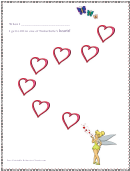Tinkerbell Behavior Chart