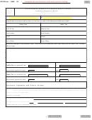 Sd Eform 0859 V2 - South Dakota Affidavit For Rebuilt Motor Vehicle