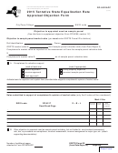 Form Rp-5022app - Tentative State Equalization Rate Appraisal Objection Form - 2015