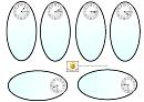 Analog Quarter Past Clock Template