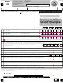 Long Form - Payroll Tax Statement - San Francisco Tax Collector - 2005