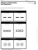 Patterns Of Attraction And Repulsion Magnets And Electromagnetism Activity Sheet
