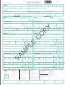 Sample Form Fr300p - Police Crash Report