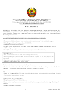 Request For Entry Visa To Mozambique